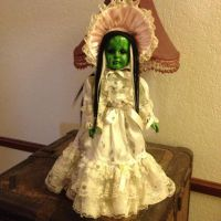 Musical Bride Of Frankenstein w Bonnet Creepy Horror Doll by Bastet2329