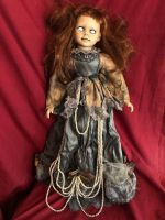 OOAK Large Posey Creepy Horror Doll Art by Christie Creepydolls