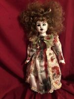 OOAK Vampire Up Do Creepy Horror Doll Art by Christie Creepydolls