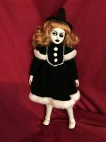 OOAK Sassy Witch Creepy Horror Doll Art by Christie Creepydolls