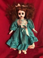OOAK Hollow Eyes Creepy Horror Doll Art by Christie Creepydolls