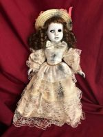 OOAK One Eyed Southern Belle Creepy Horror Doll Art by Christie Creepydolls