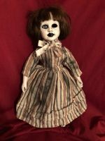 OOAK Vein Face Creature Creepy Horror Doll Art by Christie Creepydolls