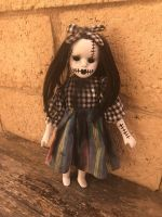 OOAK Small Stitches Girl Creepy Horror Doll Art by Christie Creepydolls