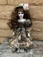 OOAK Fancy One Eye Creepy Horror Doll Art by Christie Creepydolls