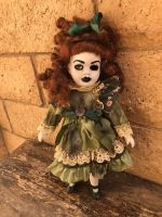 OOAK Small Pretty Girl Creepy Horror Doll Art by Christie Creepydolls