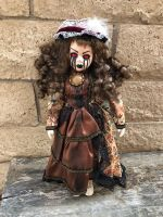 OOAK Flesh Crackle Demon Creepy Horror Doll Art by Christie Creepydolls