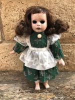 OOAK Small Crackle Old Fashioned Creepy Horror Doll Art by Christie Creepydolls