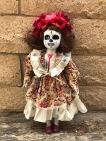 OOAK DOD Flower Creepy Horror Doll Art by Christie Creepydolls