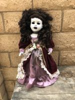 OOAK Large Head Beauty Creepy Horror Doll Art by Christie Creepydolls