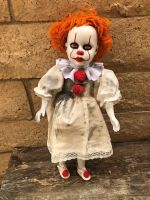 OOAK Pennywise IT Clown Creepy Horror Doll Art by Christie Creepydolls