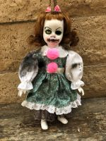 OOAK Small Stitches Clown Creepy Horror Doll Art by Christie Creepydolls