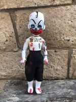 OOAK Living Dead Doll Clown Repaint Creepy Horror Doll Art by Christie Creepydolls