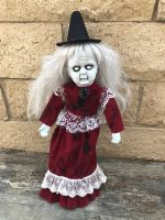 OOAK Old Hag Witch Creepy Horror Doll Art by Christie Creepydolls
