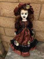 OOAK Pretty Girl Creepy Horror Doll Art by Christie Creepydolls