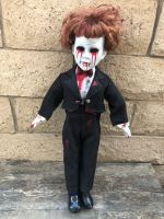 OOAK Large Ventriloquist Groom Creepy Horror Doll Art by Christie Creepydolls