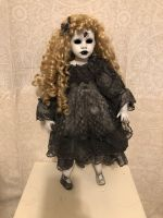 OOAK Large Hollow Eye Spider Girl Creepy Horror Doll Art by Christie Creepydolls