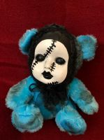 OOAK Sad Stitches Teddy Bear Creepy Horror Doll Art Christie Creepydolls