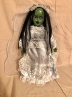 OOAK Frankenstein's Bride Creepy Horror Doll Art by Christie Creepydolls