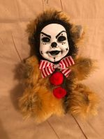 OOAK Smiling Cute Clown Teddy Bear Creepy Horror Doll Art Christie Creepydolls