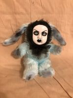 OOAK Small Bunny Rabbit Creepy Horror Doll Art Christie Creepydolls