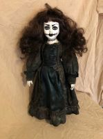 OOAK Lady with Stitches Creepy Horror Doll Art by Christie Creepydolls