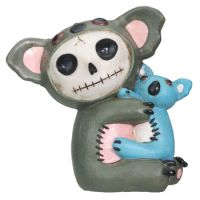 Hugs Koala Furry Bones Skellies Figurine