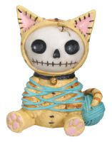 Mao-Mao Kitty Furry Bones Skellies Figurine