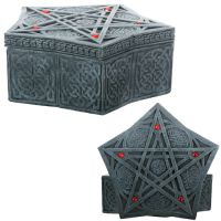 Celtic Pentacle Spell Box