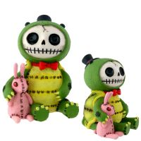 Scooter Turtle Furry Bones Skellies Figurine