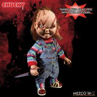 Mezco Scarred Talking Chucky Mega Scale 15 inch