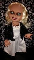 Bride of Chucky Talking Tiffany Mega Scale 15 inch