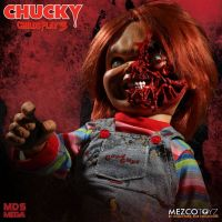 Mezco Designer Series Child's Play 3: Talking Pizza Face Chucky *MODERATELY DENTED BOX*