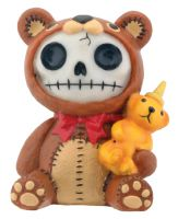 Honeybear Furry Bones Skellies Figurine