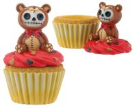 Honeybear Furry Bones Skellies Cupcake Box