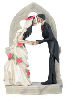 Love Never Dies Wedding Couple Wedding Cake Topper