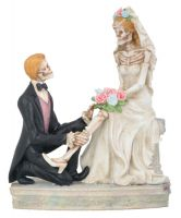 Love Never Dies the Garter Wedding Cake Topper