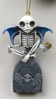 Guardian Skelly Skeleton Ornament