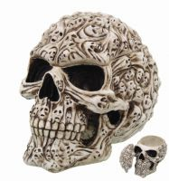 Spirit Skull Box by Anne Stokes