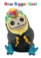 Mango the Toucan Furry Bones Skellies Medium Figurine