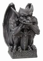 Gargoyle with Sword Statue
