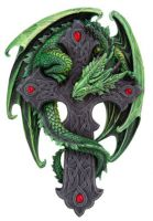 Woodland Guardian Plaque by Anne Stokes