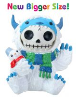 Yeti Abominable SnowmanFurry Bones Skellies Medium Figurine