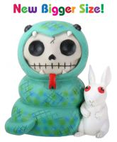 Ssstevie Snake Furry Bones Skellies Medium Figurine