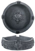 Dragon Ashtray with Celtic Knots