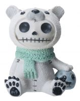 Chilton Polar Bear Furry Bones Skellies Figurine