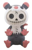 Awesome Possum Furry Bones Skellies Figurine