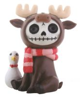 Spruce Moose Furry Bones Skellies Figurine