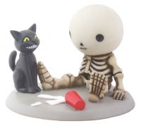 Lucky Spilled Milk Skellies Figurine