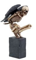Angel of Death Skeleton Figurine